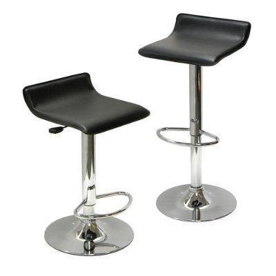 Cumar-Chrome-Air-Lift-Adjustable-Swivel-Stools-with-Sleek-Metal-Base-and-Faux-Leather-Seat-Set-of-2