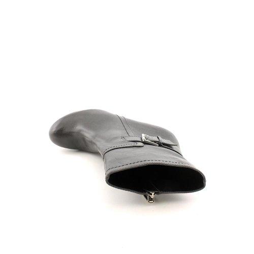 Marc Fisher Kvinna Harlie Svart Läder Fotled Platåstövlar 10 M Oss