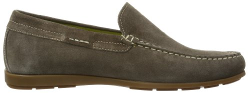 Dark VELOURS APPLE 9852 Slipper ALGORAS Herren Grey Grau Mephisto fqa047c