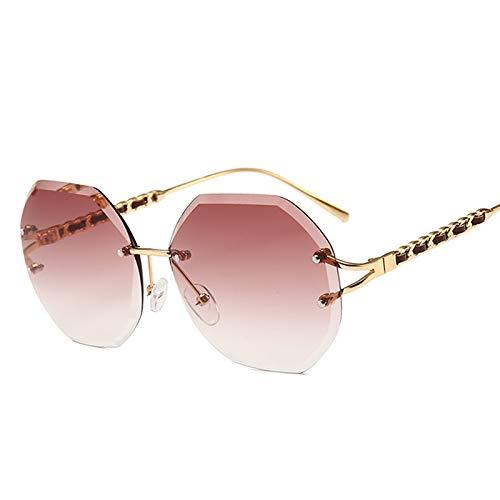 - AAMOUSE Sunglasses New Clear Rimless Sunglasses Women Men Retro Celebrity SunglassesOcchiali Glasses Da Sole Shades