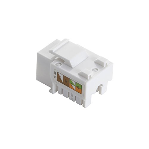cat 6 wiring diagrams 568a vs 568b: teninyu rj45 keystone jack module connector  568a/