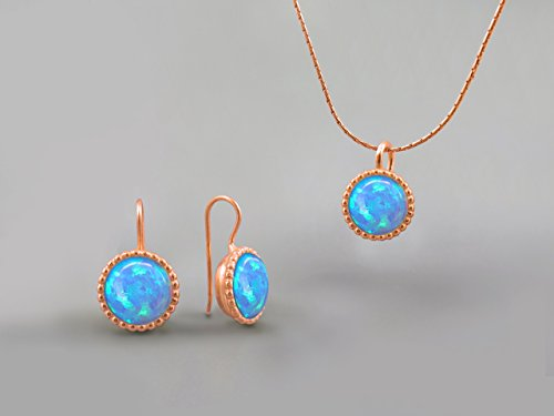 10-mm-blue-fire-opal-stones-round-jewelry-set-for-women-14k-rose-gold-october-birthstone-jewelry-opa