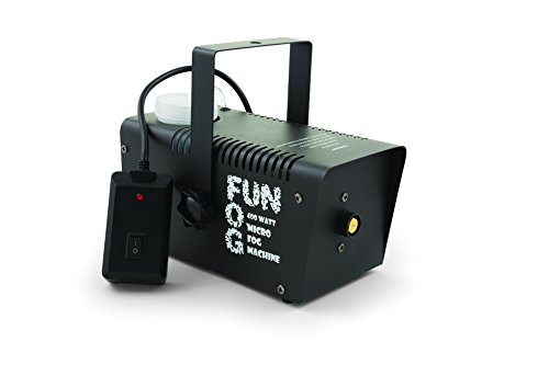 Fog Machines - Froggys Fog - 400 Watt Halloween Fog Machine with Wired Remote Control, 400-Watt Fog Machine - All Metal, Great Output, Timer and Wireless Control Options