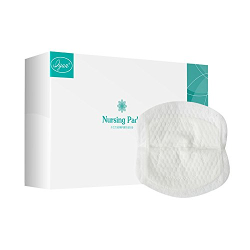 Ultra-Thin Super Soft Disposable 100 Pieces Maternity Nursing Pads for Breastfeeding by Leyun