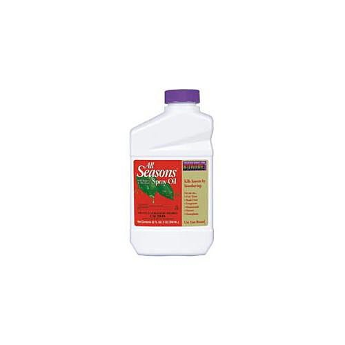 Bonide All Seasons Horticultural Spray Oil Concentrate - 1 Quart (Spray Seasons Oil Horticultural)
