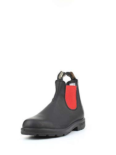 Boots Chelsea rosso Nero Blundstone 508 gzTqwfxRf