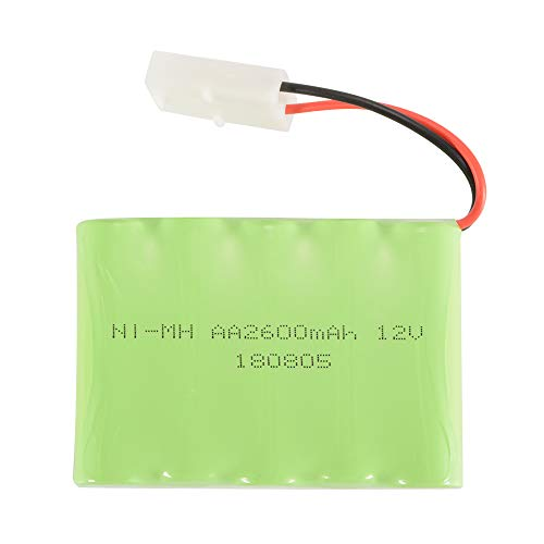 XCSOURCE RC 12V 2600mAh AA Ni-MH Rechargeable Battery with KET-2P Plug for RC Car Truck Boat RC Hobby Lighting Gadgets Electric Tools BC762 12v Nimh Rc Battery