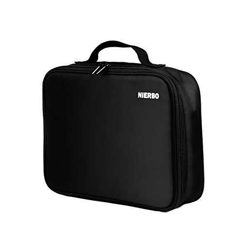 Projector Travel Carrying Case Video Projector Bag Mini Projector Case for DeepLee A1, WOWOTO H8 T8E A5, RIF6 CUBE, AAXA P300, ZTE Spro 2 and more by NIERBO