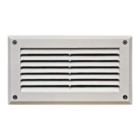 - Wall Light, DSL1000, W, Louvered, Brick, Step