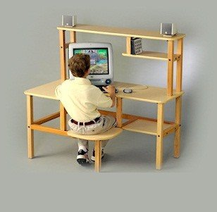 Grade School Computer Desk - Grade School Manufactured Wood 23