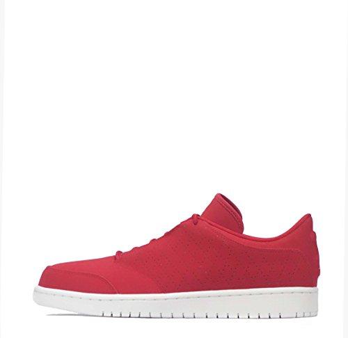Nike - Zapatillas de Piel para hombre rojo rojo