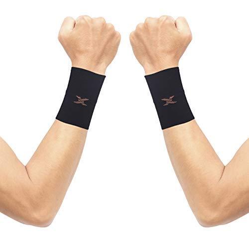Thx4COPPER Compression Wrist Sleeve-Copper