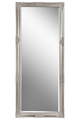 Wandspiegel Spiegel silber Barock SHAILENE 170 x 70 cm