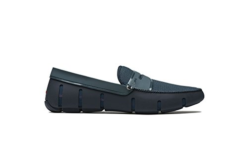 SWIMS Penny Loafer DT Navy/Storm, Size 10 by SWIMS