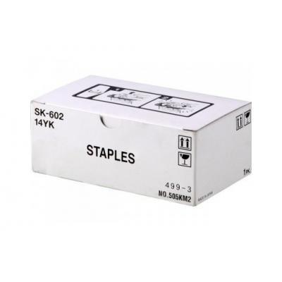 Minolta Konica Staples - Lexmark 14YK Konica Minolta Sk 602 OEM Staples Yields 5,000 Pages