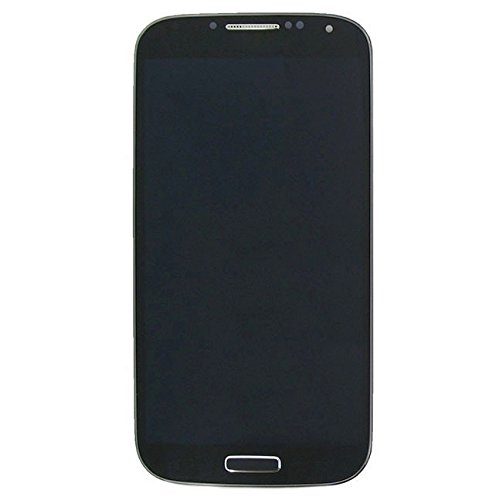 CAIFENG Repair Replacement Parts New LCD Display + Touch Panel with Frame for Galaxy S4 / i9505(Black) Phone Touch Screen (Color : Black)