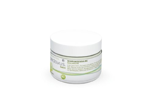 Peclavus Basic Schrundensalbe Wollwachs, Salbe gegen Hornhaut und Risse an der Fußhaut, 50 ml