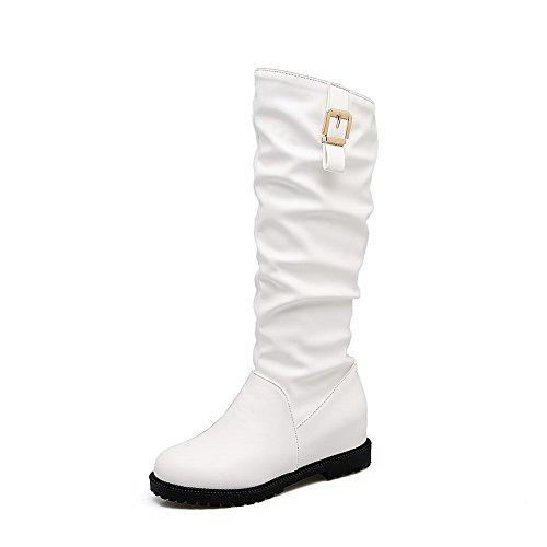 BalaMasa Abl10494, Sandales Compensées femme - Blanc - blanc,