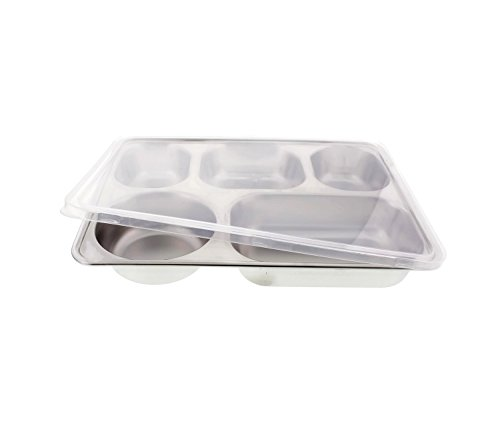 5 compartment tray - 9