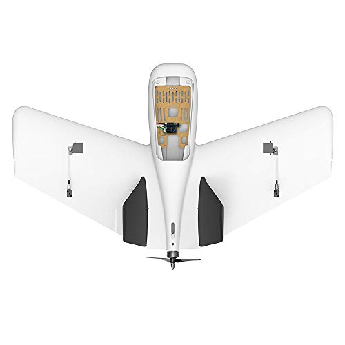 Hisoul ZOHD Dart Sweepforward Delta Wing Glider FPV EPP Racing Wing RC Airplane PNP (White) by Hisoul (Image #3)