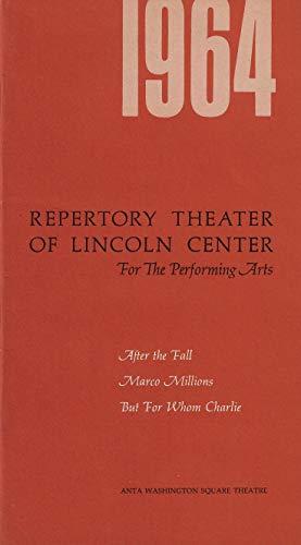 "Arthur Miller's""AFTER THE FALL"" Faye Dunaway/Jason Robards, Jr. / Hal Holbrook 1964 World Premiere Brochure"