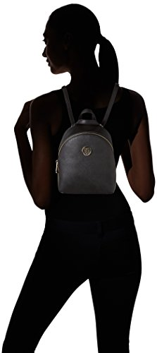 Tommy Hilfiger Honey Micro Backpack Crossover - Bolsos mochila Mujer Negro (Black)