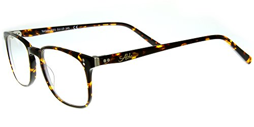 Aloha Eyewear Tek Spex 2001 MADE IN ITALY Unisex RX-Able Progressive Readers with Your Choice of Either Photo-Chromatic or Polarized Lenses (Tortoise - Driving While Lenses Transition