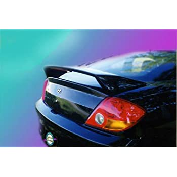 9A Accent Spoilers Spoiler for a Hyundai Tiburon Factory Style Spoiler-Carbon Gray Metallic Paint Code