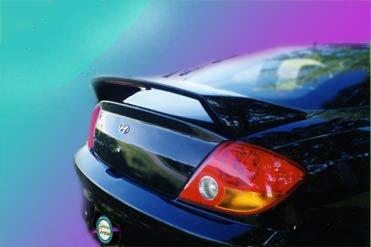 Accent Spoilers - Spoiler for a Hyundai Tiburon Factory Style Spoiler-Ebony Black Paint Code: EB