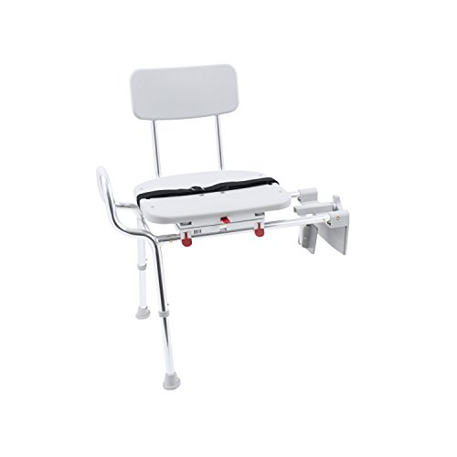 Eagle Health Supplies Tub-Mount Swivel Sliding Shower Transfer Bench, No Tool Assembly by Eagle Health Supplies (Image #6)
