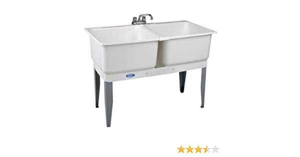 46 In X 34 In Utility Plastic Laundry Tub Amazon Com
