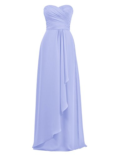 Long Lavender for Wedding Dress Plus Prom Women Dresses Size Bridesmaid Evening Alicepub RqIUFF