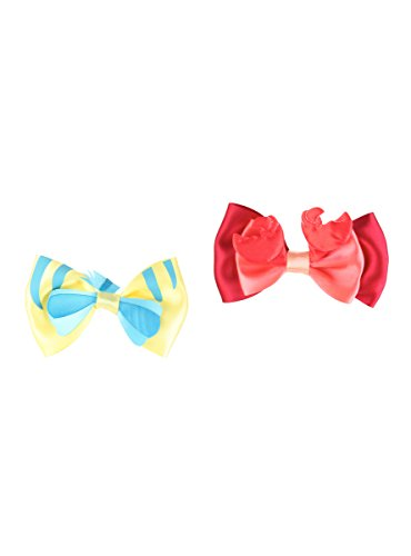 Price comparison product image Disney The Little Mermaid Flounder And Sebastian Hair Bows