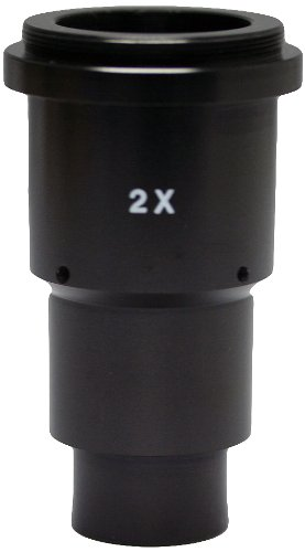 National Optical 930-420 SLR Photo Adapter with 2.0x Photo Lens, For 420T Stereoscopic Microscopes by National Optical