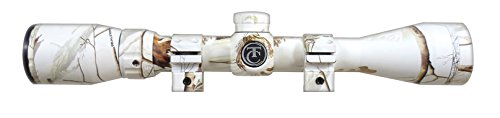 Cheap Thompson Center Predator Scope 3-12X40 Ap Snow Camo with Rings