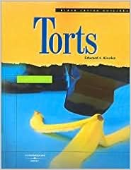 Book Torts 4th (forth) edition Text Only
