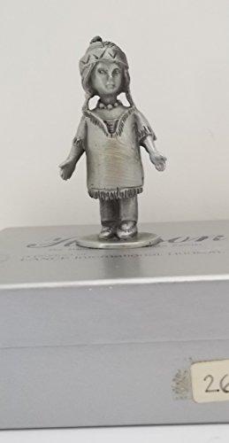 Hudson Pewter Figurine By Hudson Pewter - Indian Girl