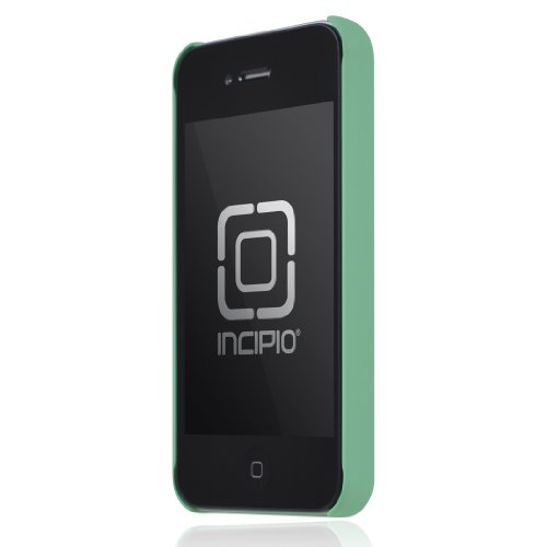 Incipio DRB327300-FSSG Feather Ultralight Hard Shell Case for iPhone 4/4S - 1 Pack - Retail Packaging - Seafoam Green
