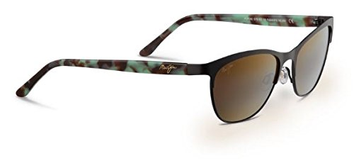 Maui Jim Popoki Sunglasses (729) Brown/Bronze Metal - Polarized - 54mm (Maui Popoki Jim)