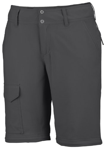 Columbia Silver Ridge - Pantalones de senderismo para mujer Gris (Grill)