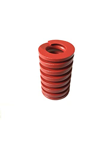Marketty Die Spring Red 25mm OD 40mm Long Medium Load Stamping Compression Mold Electric Part 1Pcs