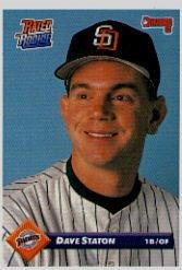 Amazoncom 1993 Donruss Baseball Card 325 Dave Staton Mint