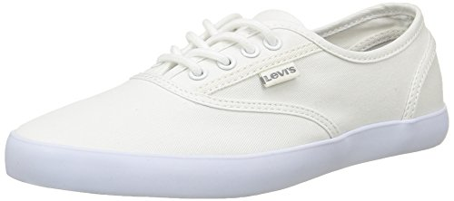 Mujer Levi's 223122 Palmdale Blanco 50 Zapatillas q4r4xPwt
