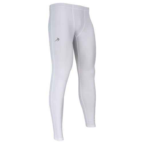 Cold Leggings - CompressionZ Men's Compression Pants - Athletic Base Layer Tights for Basketball, Cycling, Gym, Workout, Yoga - Performance Running Leggings / Rash Guard - Winter Sport Thermal Underwear for Men