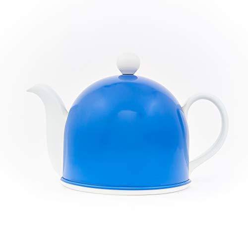 - Insulated Porcelain Teapot by Teaazi (Indigo)