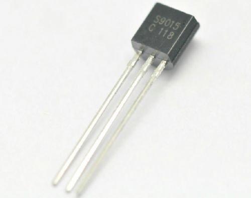100 PCS S9015 S9015C 9015 PNP Transistor TO-92 New