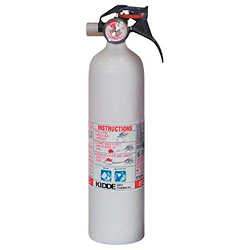 Kidde Mariner 10 BC Fire Extinguisher with Gauge, ()