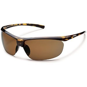 Suncloud Zephyr Polarized Sunglasses Tortoise/Brown Medium/Large - Warranty Sunglasses Suncloud