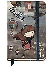 Anekke Miss Anekke notitieboek, eenkleurig, 9 x 14 cm