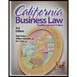 California Business Law, Walter Roy Huber, 0916772810
